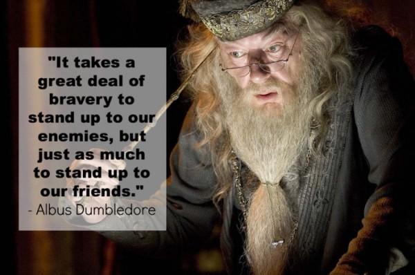 stand up - albus dumbledore